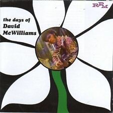David McWilliams Days of CD 22 Track (rmp225) Europe RPM 2001