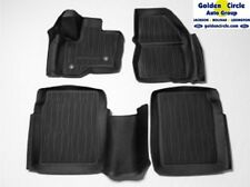 NEW FORD OEM 4PC TRAY STYLE MATS 2009 - 2018 FORD FLEX