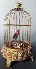 New ListingAntique German Singing Bird Cage Musical Automaton Possibly Karl Griesbaum