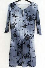 NEW WITH TAGS Romantico abito celeste floreale in cotone tg S NUOVO no Celyn B