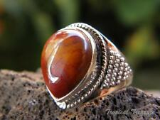 Mookaite and 925 Solid Sterling Silver Ring (Size 7 3/4, O) #264054