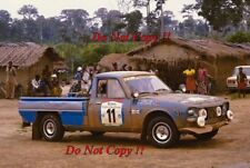 David Horsey PEUGEOT 504 Pick Up Ivory Coast Rally 1984 PHOTO Graph 1