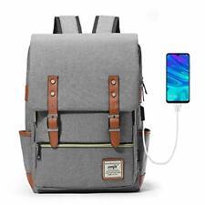 HapiLeap Laptop Vintage Backpack Water Resistant Business Travel School Rucksack