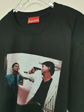 SUPREME THE KILLER john woo t-shirt noir black tee medium us