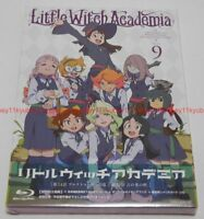 Little Witch Academia Vol.9 First Limited Edition Blu-ray Making Book Card Japan