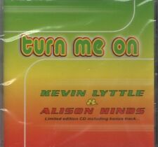 KEVIN LYTTLE & ALISON HINDS Turn me on 4  TRACK CD  NEW - STILL SEALED
