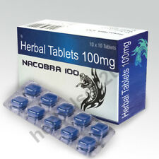 10 HERBAL BLAU NACOBRA SOFORT SEXPILLEN POTENZPILLEN POTENZMITTEL TOP NEU 100 !!