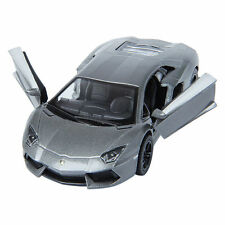 "New 5"" Kinsmart Lamborghini Aventador LP700-4 Diecast Model Toy Car 1:38 Grey"