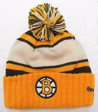 BOSTON BRUINS 2010 NHL WINTER CLASSIC REEBOK CUFFED POM KNIT HAT TOQUE