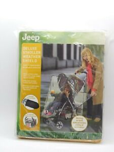 Jeep Deluxe Stroller Weather Shield, New in package