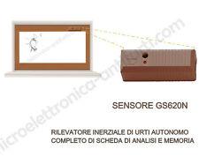 Sensore Aritech GS620N + analisi sismico vibrazione porte rottura vetri finestre