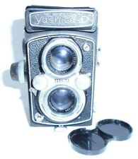 Vintage Yashica  D Black 120mm TLR Camera with 80mm f3.5 Lens and Copal MXV