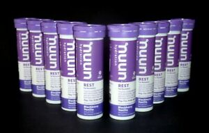 Nuun Hydration REST For Recovery Blackberry Vanilla (10 Pack) Factory Sealed!