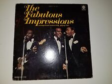 """THE FABULOUS IMPRESSIONS  ARRANGED BY JOHNNY PATE -SOUL ABC VINYL 12"""" RECORD LP"""