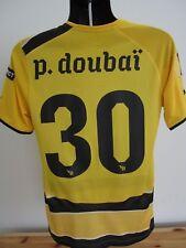 BSC Young Boys 30 P. Doubai Match Issue Player Puma Soccer Jersey Football Shirt