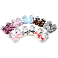 Toddler Infant Baby Girls Bowknot Princess Soft Sole Shoes Sneakers Casual Shoes