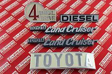Toyota Land Cruiser FJ40 BJ40 40 Series Diesel OEM Genuine Emblem Plate 1969-86