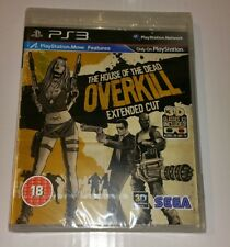 House of the Dead Overkill Extended CUT PS3 New Sealed UK PAL Sony PlayStation 3