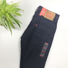 BNWT Levi's - 511 Slim Stretch Fit Chino Trousers - Navy Blue - W30 L32