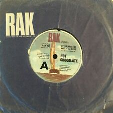 """HOT CHOCOLATE - It Started With A Kiss 45rpm 7"""" Vinyl Record Australia 1982"""