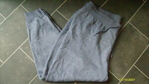PRIMARK CASUAL DARK BLUE CUFFED JOGGERS/TRACSUIT BOTTOMS SIZE 2XL 22/24 L27 L@@K