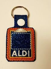 Quarter keeper for ALDI Key Fob Chain Ring Tag for Luggage