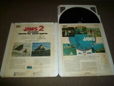 CED videodisc -  JAWS - JAWS 2