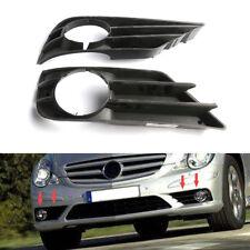 Pair Front Bumper Fog Lamp Grille For Mercedes Benz R350 R500 R550 R63 2006-2010
