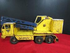 Vintage Nylint Michigan Crane Truck Model T-24 Clark Equipment Pressed Steel