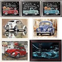 Vintage Car DIY 5D Diamond Painting Embroidery Truck Cross Stitch Home Decor