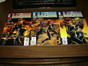 The Black Widow 1999 Marvel Knights 1-3 in VF condition