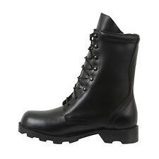 """Black Leather Army Speedlace Military Combat BOOTS 10"""" Rothco 5094 Various Sizes 10"""