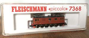Vintage N Scale Fleischmann piccolo 7368 Swedish Du2 321 electric locomotive