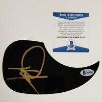 DWIGHT YOAKAM Autograph Signed Guitar Pickguard (B) ~ Beckett BAS COA