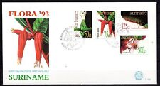 Suriname - 1993 Medicinal plants / Flowers -  Mi. 1431-34 clean FDC