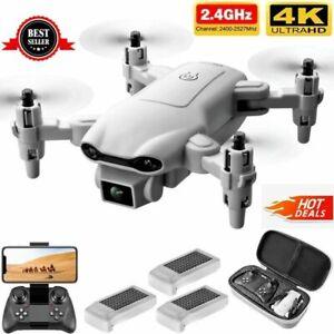 New RC Drone 2021 4K WIDE ANGLE WIFI FPV Drone Dual Camera Quadcopter