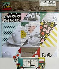 SIMPLE STORIES  [LIFE IN COLOR]  6x8 Journal Inserts   Save 60%