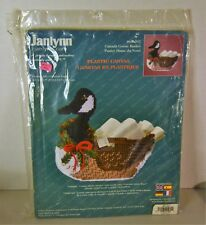 Janlynn Plastic Canvas Canada Goose Basket Plastic Canvas Kit #60-207