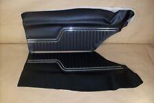 1970-72 Chevy Chevelle Rr Side Panels Unas. Platinum Ed Black w/Chrome, C70AD10C