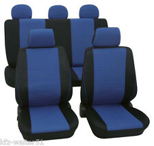 Auto Sitzbezüge Schonbezüge Schonbezug VW Mexiko Käfer ab 1971-2003 Borneo blau