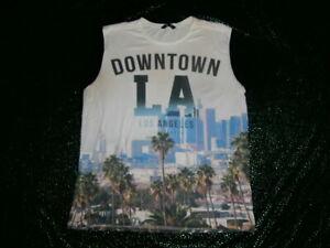 West Coast LA Gangsta Hip Hop Rap MUSCLE TANK MENS SZ 2XL DOWNTOWN LOS ANGELES
