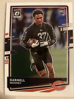 2020 Donruss Optic Darnell Mooney Tulane Chicago Bears Rated Rookie #P-275 MINT