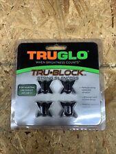 New listing TRUGLO Tru Block Black String Silencers 4 Hunting or Target Archery New Tru Glow