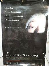 The Blair Witch Project Movie Poster 40 x 27 1999 Double Sided
