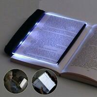 Portable LED Book Light Reading Night Tablet Flat Plate Panel Wireless Lamp Top