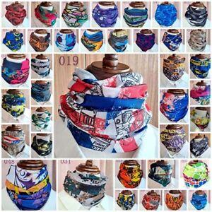 Outdoor Multi-function Face Mask Riding Cycling Turban Magic Headband Veil Scarf