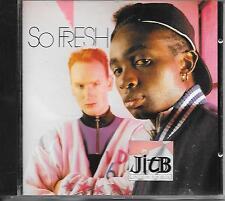 JITB - So Fresh CD Album 8TR Acid House New Beat 1989 DENMARK (Jack In the Box)