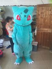 Halloween BULBASAUR Pokemon Center pikachu Mascot Costume Adult Fancy Dress