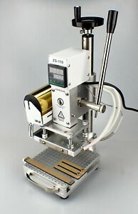 ZONESUN ZS-110 Hot Foil Stamping Machine Embossing Machine
