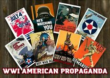 WW1 AMERICAN DIGITAL POSTER PACK - LOT OF 200+ PCS - US Militaria Bundle Deals